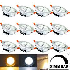 4-100 stück 7W LED Einbauleuchte Spot Dimmbar Einbau Strahler Decken Lampe IP44