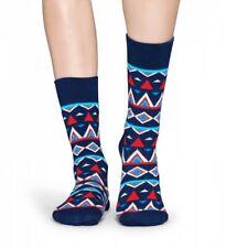 Happy Socks - Socken - Temple Socks Inka blau / weiß / rot - 36-40 + 41-46