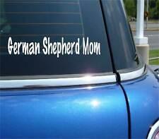 GERMAN SHEPHERD MOM DOG PET FUNNY DECAL STICKER ART CAR WALL DECOR