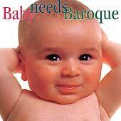 Baby needs Baroque by Allan Vogel, Carol Rosenberger, Daniel...  NEW Cassette