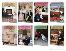 Brainbox CANDY Teeny Tiny PERSONE COMPLEANNO cartoline d'auguri divertente maleducato Cheeky SCHERZO