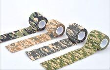 Tarnband haftend Klebeband Tape Army Look 6 Farben Gewebeband Camouflage Army