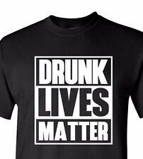 #Drunk Lives Matter Shirt Long Short Sleeve Saint Patrick Day Funny Humor Gift