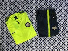 Tuta Acetato Nike Junior Bimbo - FC Inter Rappresentanza - Giallo Fluo - 8554