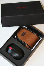 TUMI Travel Mini Wireless Laser Mouse USB Nano Receiver Org $89 W/Pouch &Battery