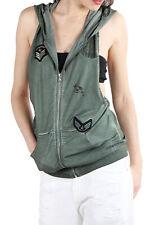 Sexy Woman VI-T948A sweat-shirt pour femme - coleur Vert FR
