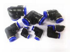 Nailon Neumático Línea de aire Codo 90 Ajuste a presión codo Tubo Manguera