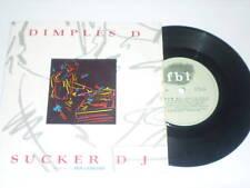 "DIMPLES D - Sucker DJ - 1990 UK 2-track 7"""