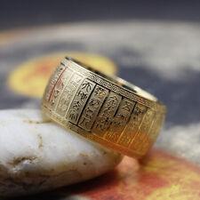 Asian Magic Ring Taoist Yin Yang Bagua Spinner Ring Amulet Feng Shui Talisman