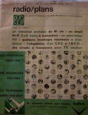 Radio/plans. N° 240. Octobre 1967. Radio. Télévision. Electronique.