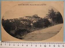 cartolina Lombardia -Montù Beccaria panorama - PV V949