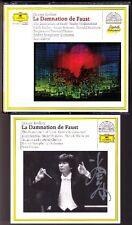 Seiji Ozawa firmato Berlioz La damnation de Faust 2cd Burrows McIntyre Mathis