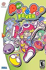 RGC Huge Poster - Puyo Puyo Fever Sega DreamCast BOX ART- SDC076