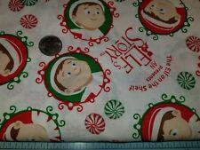 DOG BANDANA Over Collar XS-L ELF ON A SHELF An Elf's Story Christmas Candy NEW