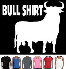 Funny T-Shirts Bullshirt Bull Shirt Offensive Rude Aussie mens Sizes New prints