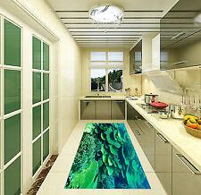 3D Beau Corail Vert 093 Décor Mural Murale De Mur De Cuisine AJ WALLPAPER FR