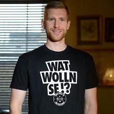 T-Shirt Per Mertesacker, Wat wolln se!? Deutschland, WM, Fußball-Kult, S-XXL!