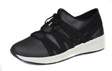 Easy Spirit Women's Wide Black Pewter Illuma Sneaker Shoes Ret $89 New