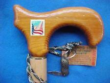 CEDAR/maple pool cue USPS 33 cent stamp Cane walking-stick