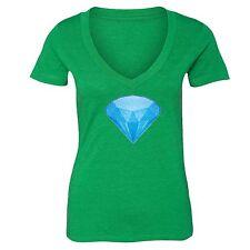 Blue Diamond Emoji T-shirt Glitter Funny Icons Dope Cool Smiley Gift Tshirt