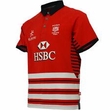 Kukri Hong Kong Rugby Men's Away Jersey - Red - New