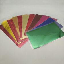20PCS Foil Transfer Sheets Paper Laminating Craft Hot Stamping Laser Printer