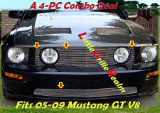 05-09 2008 2009 Ford Mustang GT V8 Billet Grille 4PC 07