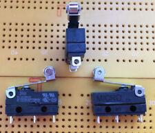 Rodillo En Miniatura De Sub 6 A 250 V SPDT Palanca Microswitch Plata IP67 ZW50 Multi Cantidad