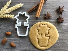 Flower Pot Cookie Cutter | Fondant Cake Decorating | UK Seller
