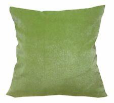 Fh215a Plain Lime Green Soft Faux Mink Fur Cushion Cover/Pillow Case*Custom Size