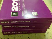 2011 CHEVY CHEVROLET IMPALA Service Shop Repair Manual Set OEM 11 FACTORY BOOKS