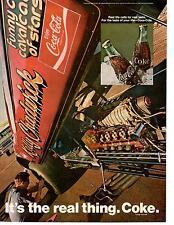 1970 COCA-COLA / COKE  -  KELLY CHADWICK FUNNY CAR  ~  ORIGINAL PRINT AD