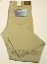 REVILS 342 V4823 Stretch Gabardine bis W48 beige-khaki  leicht Jeans-Look