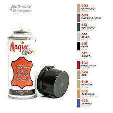 Tintura vernice spray per capi in pelle e similpelle scarpe borse tappezzeria