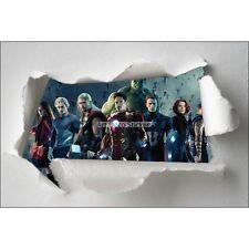 Adesivi bambino carta effetto strappato Avengers ref 7664