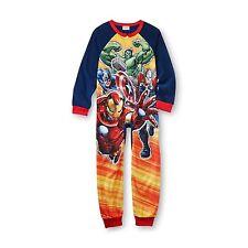 Marvel Avengers Sleeper Blanket Pajama Boy Size S 6/7 M 8 L 10/12