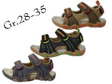 Jungen Sandalen NEU innen Sohle Leder Outdoor Sandalette Trekking @2473x