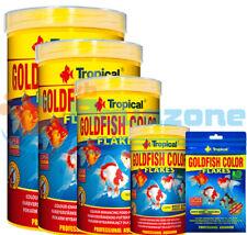 GOLDFISH COLOR FLAKES 12g 20g/100ml 50g/250ml 100g/500ml 200g/1L TUBE TROPICAL