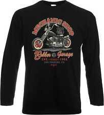 Longsleeve/Langarmshirt HD Biker Chopper&Old Schoolmotiv Modell Mechanic Shop