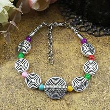 Tibetan Swirl Bracelet Nepal Boho Bangle Jewellery Gypsy Bohemian A146 UK SALE