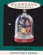 1993 Hallmark The Bearymores Series Miniature Ornament Nib New