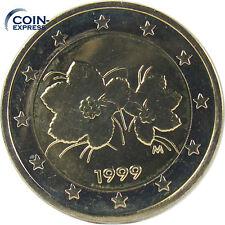 *** 2 euros moneda Finlandia selección de diversos años Finland Suomi rumbo moneda **