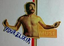 MUSE KNIGHTS OF CYDONIA MAN PHOTO GUITAR CASE AMP BOARD RARE STICKER