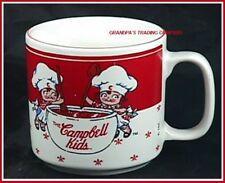 Campbells Kids Souper Mug 1991 Chefs Stirring Soup Pot
