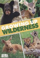 Growing Up Wilderness (DVD, 2010)  Animal Planet Wolf ,Black Bear, Moose, Deer