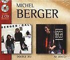 908 // COFFRET 2 CD MICHEL BERGER EN TBE DOUBLE JEU + AU ZENITH