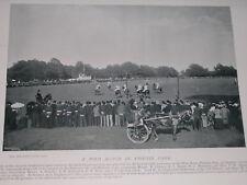 1896 POLO MATCH PHOENIX PARK 10TH & 13TH HUSSARS