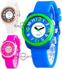 Analog XONIX wrist-watch for kids, quartz, backlight, water resistant 100m