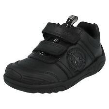 "***Sale*** Clarks ""Wing Smart"" Boys Black Leather Shoes"