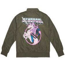BAIT x Marvel Men Deadpool Unicorn Lightweight Jacket green army